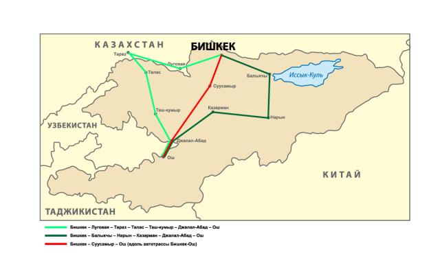 Карта 1.