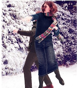 Modern Midi Skirt WG461 Below Knee Skirts at Boden 2013-02-11 13-39-19