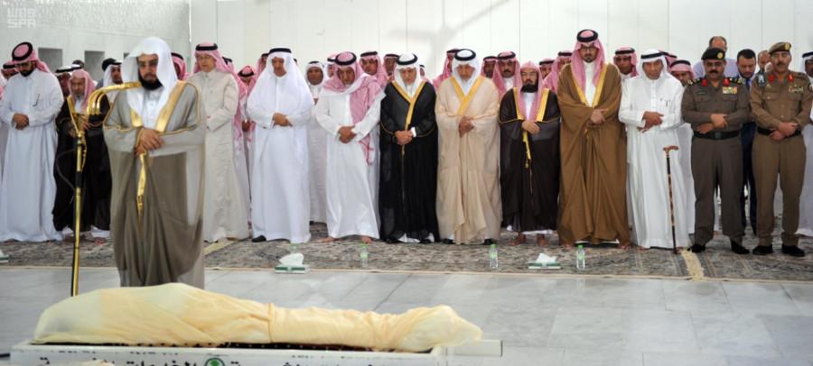 Джаназа принца Мухаммада бин Фейсала бин Абдулазиз ал-Сауд