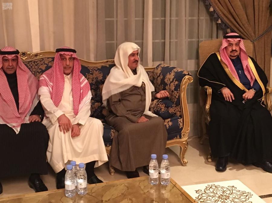 Губернатор провинции Эр-Рияд выразил соболезнования семейству ал-Шейх