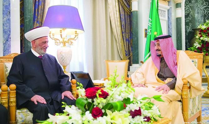 Служитель Двух Святынь принял муфтия Ливана