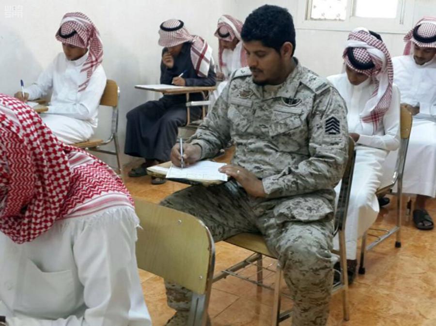 520 военнослужащих на границе приступили к экзаменам при департаменте образования в Сабия