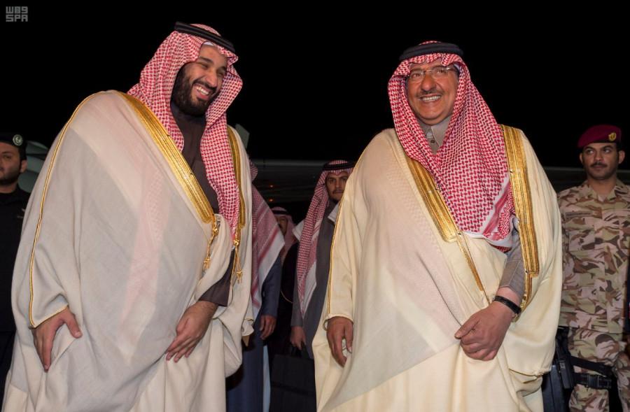 Его Высочество наследный принц прибыл в Эр-Рияд, следуя из-за рубежа