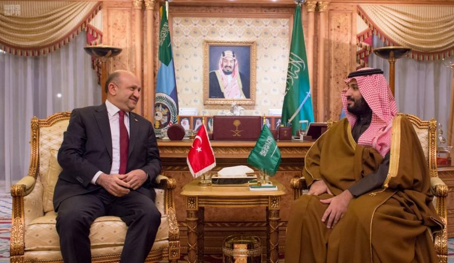 Его Высочество заместитель наследного принца  провёл переговоры с министром обороны Турции