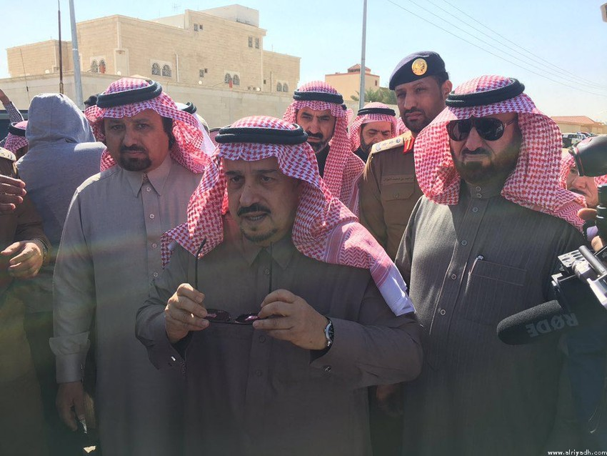 Губернатор провинции Эр-Рияд совершил инспекционную поездку в округ Харадж