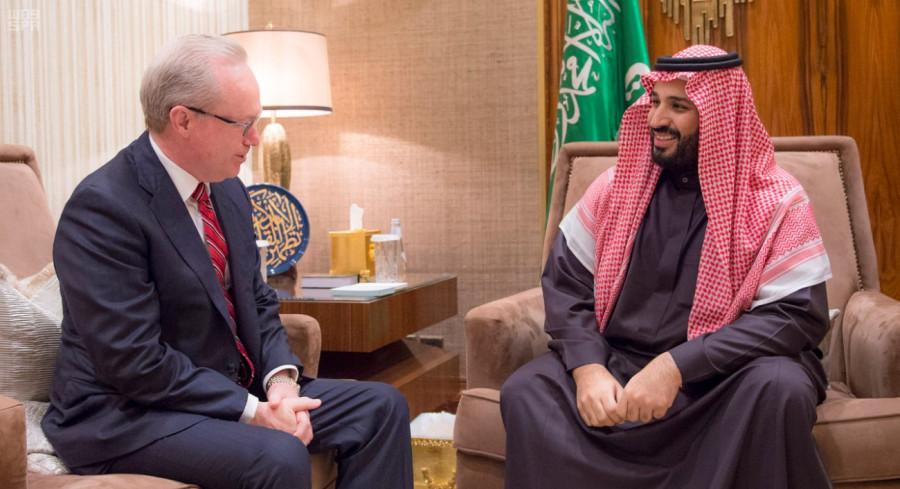 Его Высочество заместитель наследного принца встретился с исполнительным директором компании Raytheon