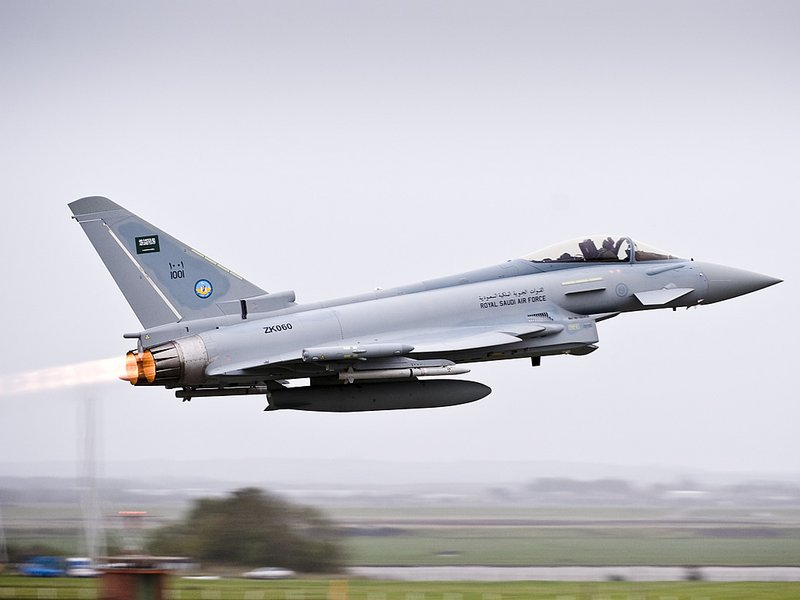 Саудия заключила сделку с компанией BAE Systems plc на покупку 48 истребителей «Тайфун»