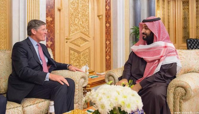 Заместитель наследного принца встретился с исполнительным директором компании Citigroup Inc