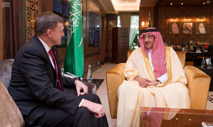 Переговоры провели Его Высочество наследный принц  и начальник  АНБ США
