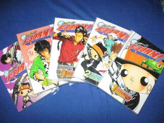 KHR manga volume 1-5