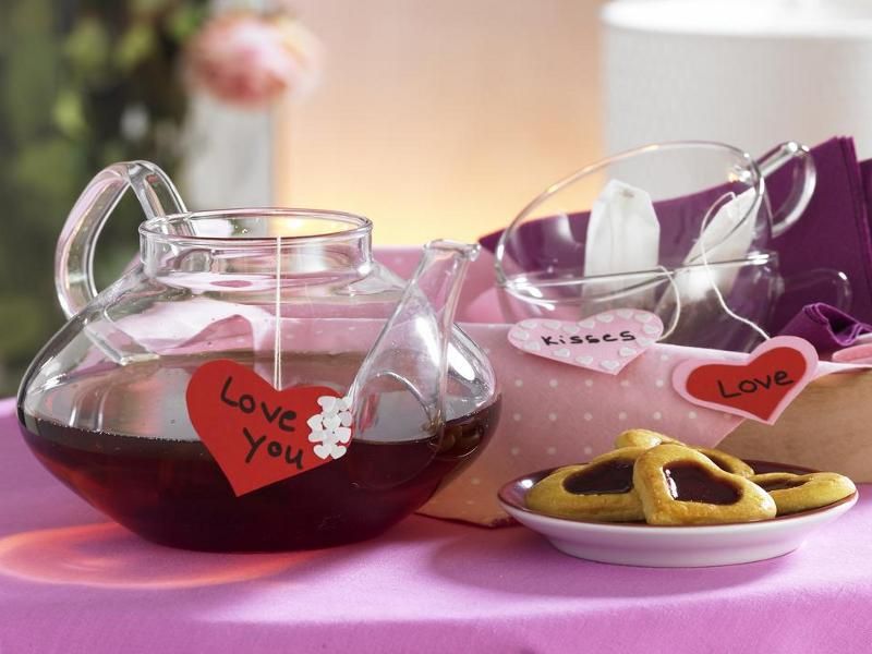 Чай для любви своими руками