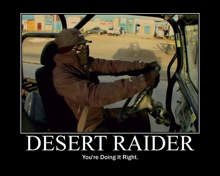 Desert raider Hammond