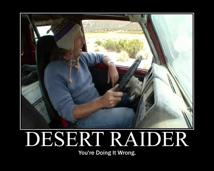 Desert raider May