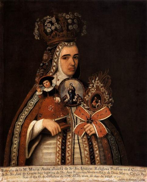 José_de_Alcibar_-_Portrait_of_María_Anna_Josefa_Taking_Vow_-_WGA00135