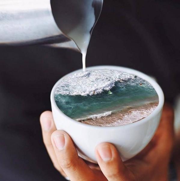 чай или кофе - море