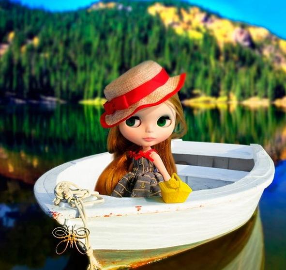 блайз на озере