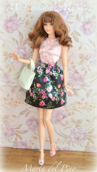 Кукла Барби новый образ, сладкий чай