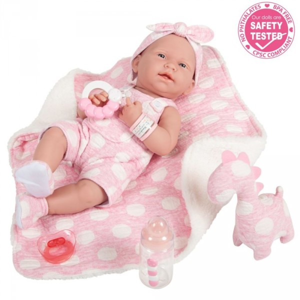 kukla-berenguer-la-newborn-15-baby-doll-in-pink-and-deluxe-accessories-berinzher-n-juborn-v-rozovom-s-dinozavrom-38-sm
