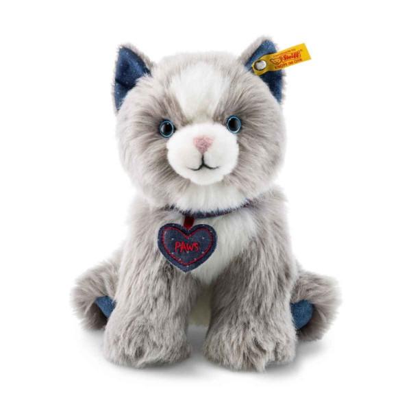 mjagkaja-igrushka-steiff-denim-darlings-paws-cat-shtajf-kotjonok-poz-seryj-21-sm