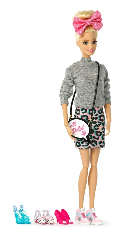 Webster's limited-edition Barbie features the designer's signature kitsch style. Photograph Mandi's Basement