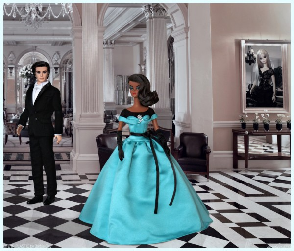 Tailored Tuxedo Ken® doll and Ball Gown Barbie® doll.