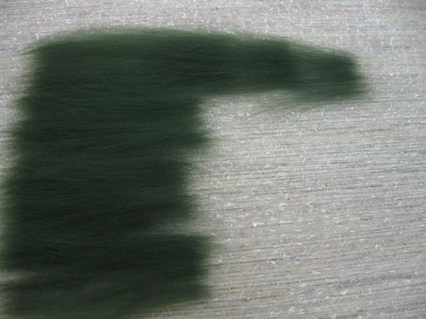 Объмные эффекты в войлоке