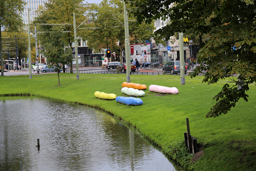 Стрит-арт и современное галерейное искусство Голландии и Бельгии