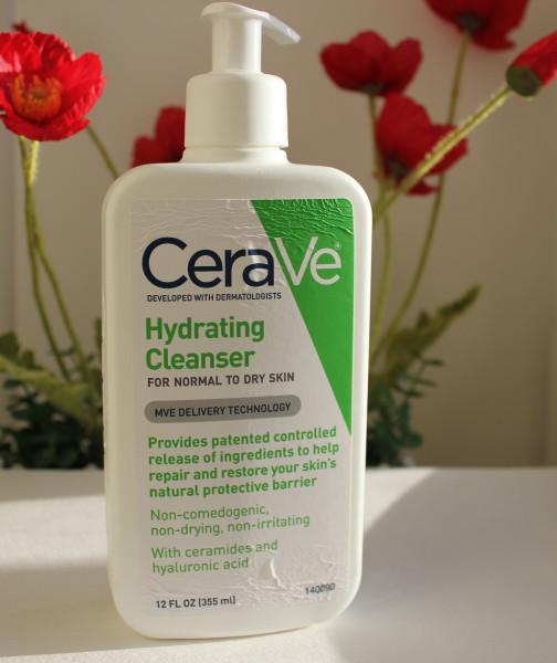 Увлажняющая умывалка от CeraVe, Hydrating Cleanser.