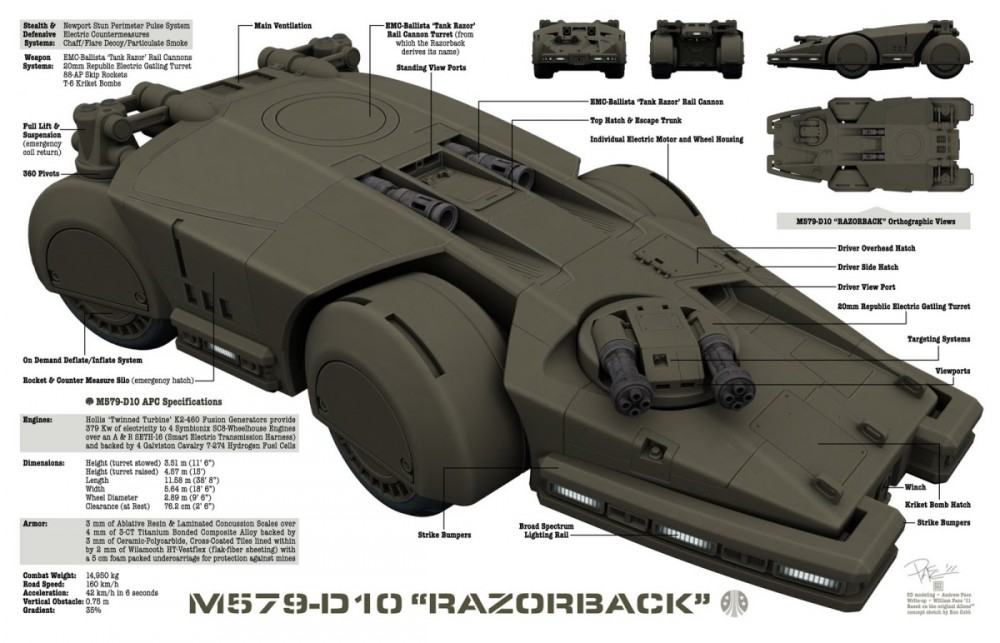 RAZORBACK DIAGRAM