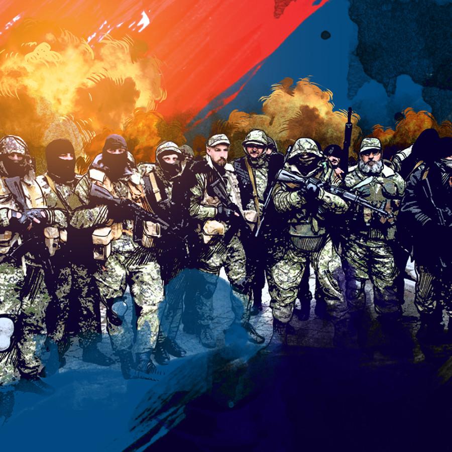 Стойкость духа ополченцев Новороссии украинским силовикам не сломить