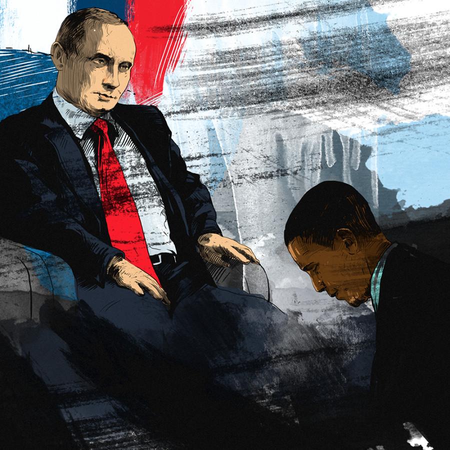 Путин_Обама
