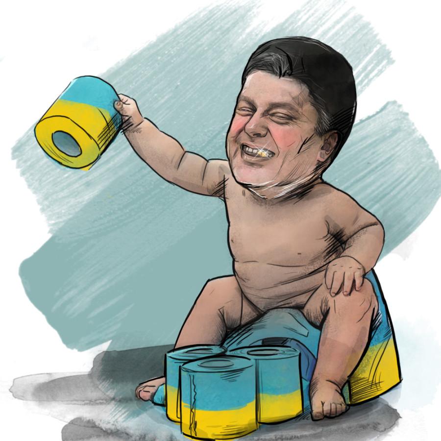 Лицемерная политика президента Украины Петра Порошенко