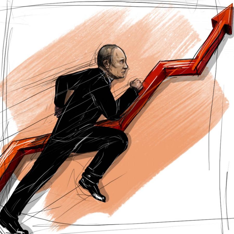 рейтинг Путина снова вырос - до 86