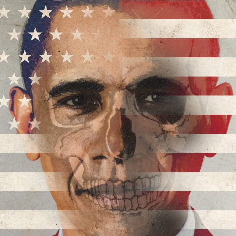 Критика безответственной политики американских властей, волей которых в США гибнут мирные люди.