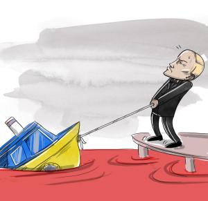В МИД ФРГ увидели слабый свет в конце тоннеля в конфликте на Украине.