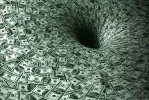 деньги черная дыра