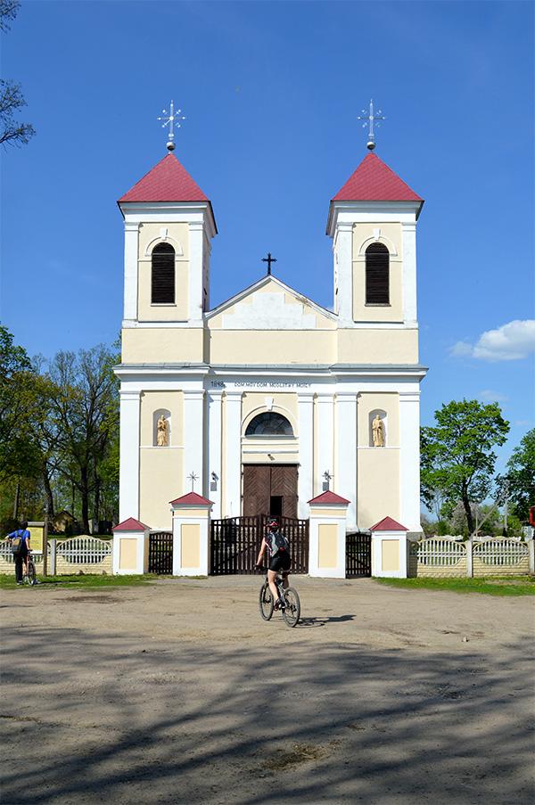 Костел в Шерешево