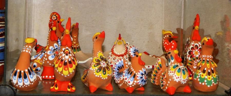 Раскраска керамики