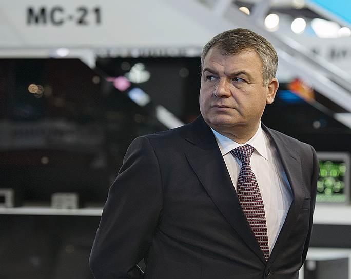 Бывший министр обороны Анатолий Сердюков    Фото: Дмитрий Азаров / Коммерсантъ