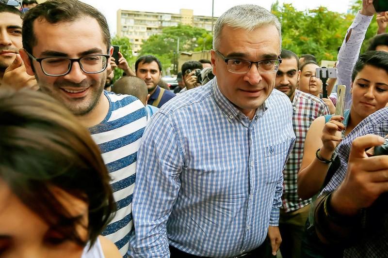 Мамедов в 2013 г. выдвинул свою кандидатуру на выборах президента Азербайджана, но был арестован и осужден по обвинению в организации беспорядков                                                                                                         Aziz Karimov / AP Photo