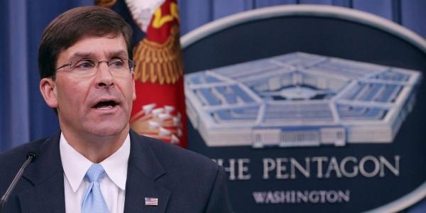 Новый шеф Пентагона генерал Марк Эспер.      Фото cnbc.com