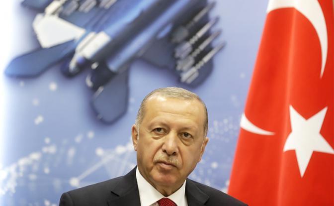 На фото: президент Турции Реджеп Тайип Эрдоган (Фото: Михаил Метцель/ТАСС)