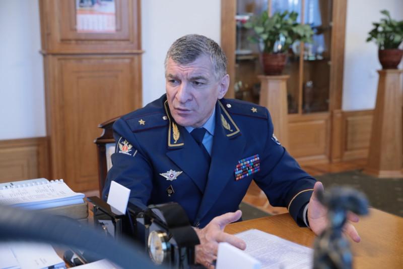 Глава местного управления Федеральной службы исполнения наказаний Муслим Даххаев