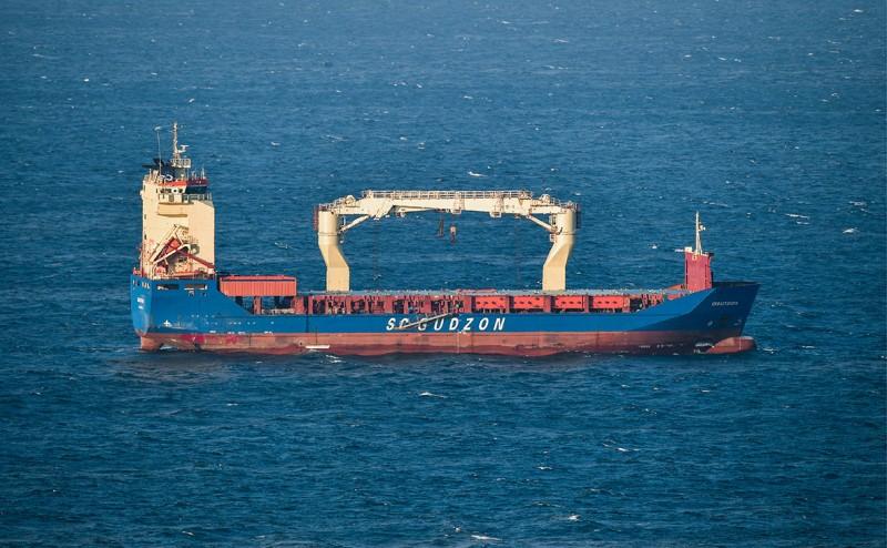 Многоцелевое грузовое судно «Севастополь» (Фото: Юрий Смитюк / ТАСС)