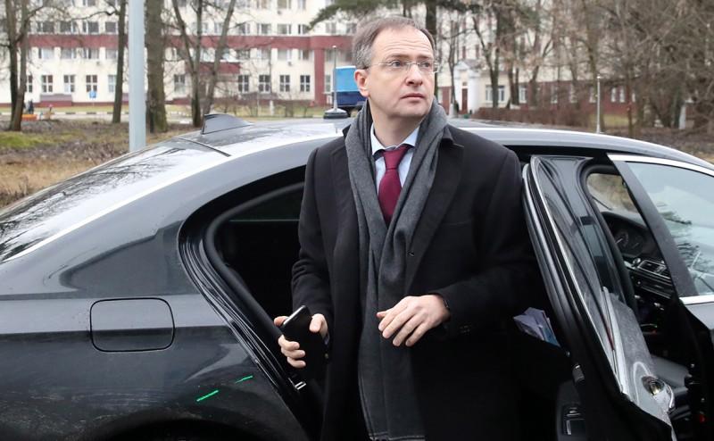 Владимир Мединский (Фото: Вячеслав Прокофьев / ТАСС)