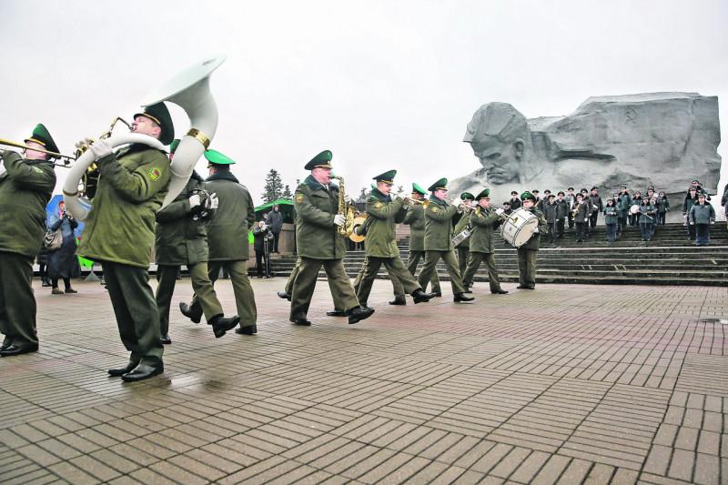 Духовая музыка звучит в Брестской крепости с момента ее основания – больше двухсот лет. Фото: БЕЛТА