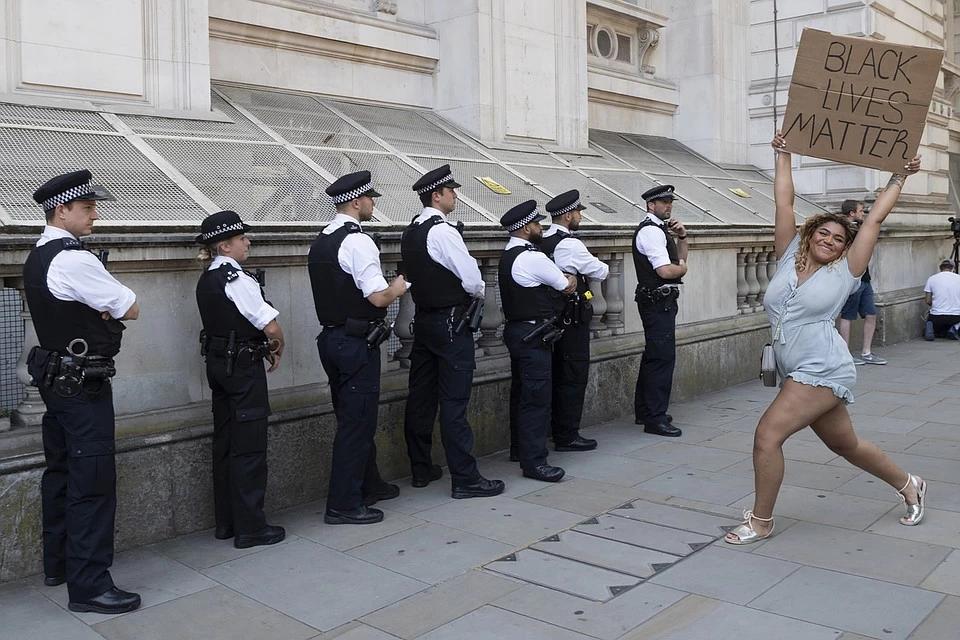 Акция протеста в Лондоне.             Фото: GLOBAL LOOK PRESS