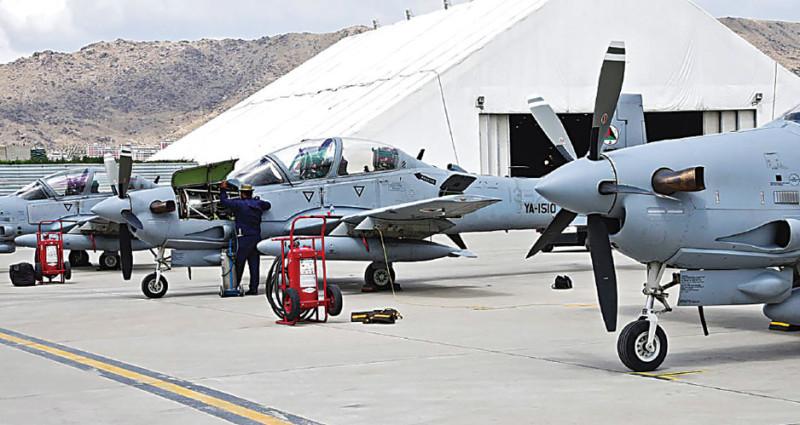EMB 314 Super Tucano афганских ВВС на аэродроме Кабула. Фото: thedrive.com