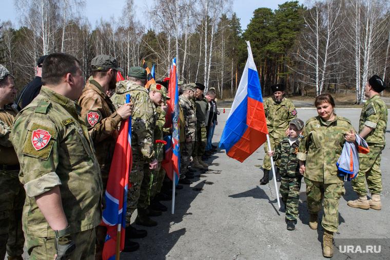 Добровольцам из России понадобятся сутки, чтобы приехать в Донбасс.  Фото: Владимир Жабриков © URA.RU