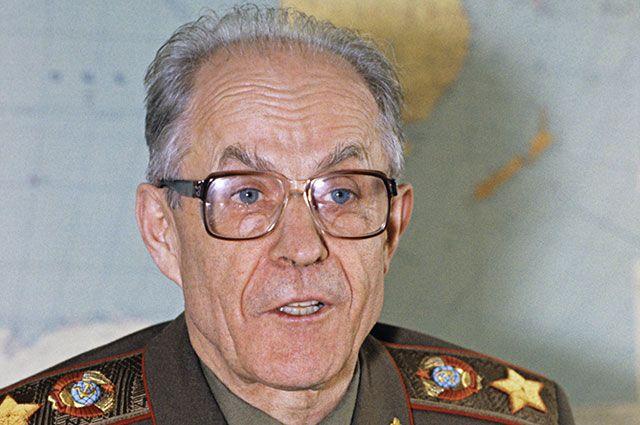 Маршал С.Ф. Ахромеев. Фото взято из открытых источников